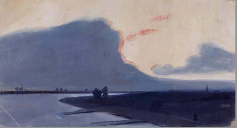 august macke paysage du bas rhin 1903