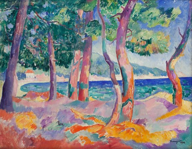 henri_manguin_pinede_a_cavaliere_1906