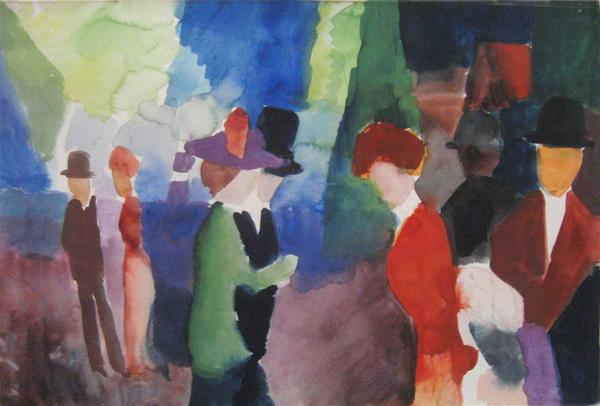 macke-promenade_1914-1
