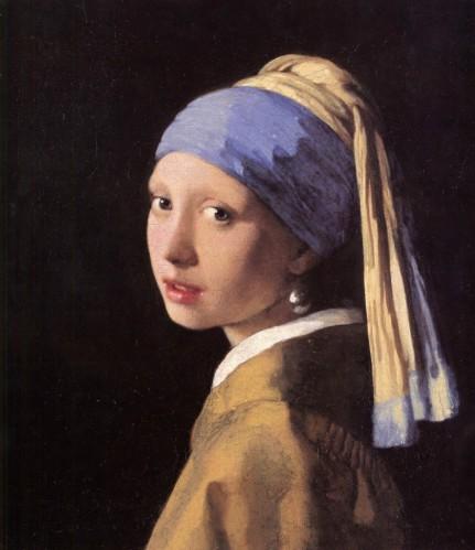 vermeer-jeune-fille au turban